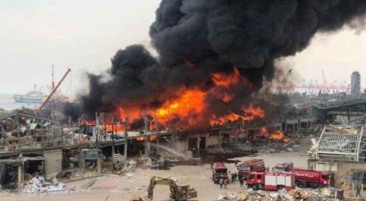 Beirut port  fire extinguished and humanitarian aid lost