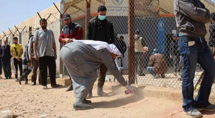 Five COVID-19 cases among Syrian refugees in Zaatari and Azraq camps