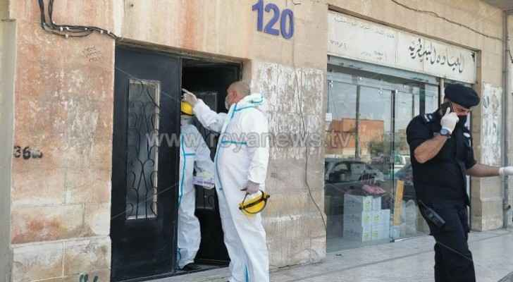 Two buildings isolated in Mafraq following COVID-19 cases