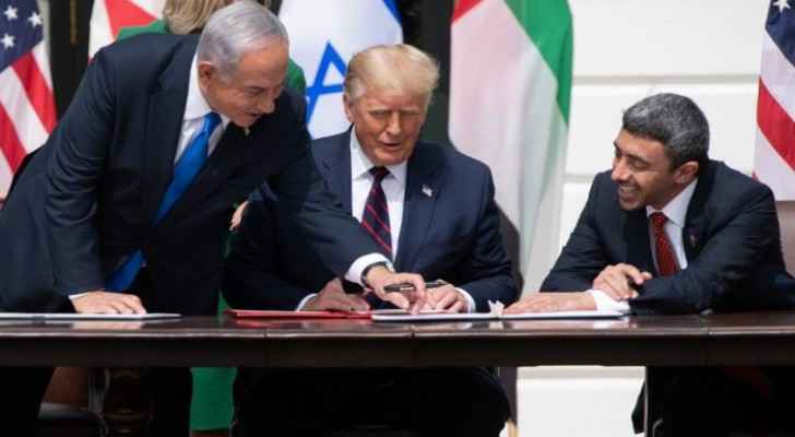 Full text of normalization agreement signed by UAE and Israeli occupation
