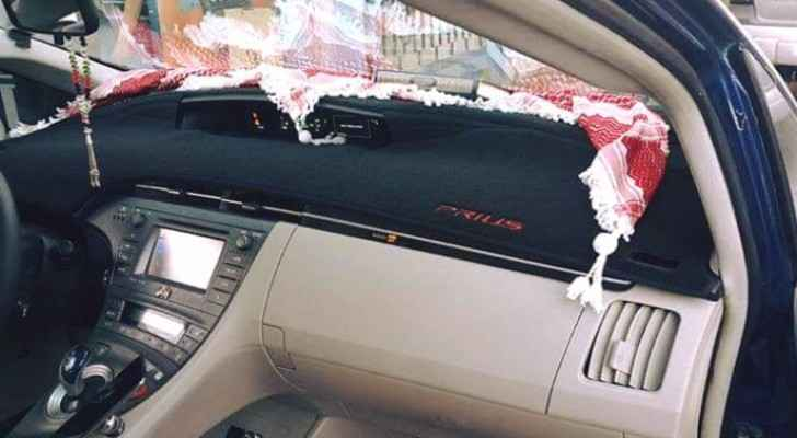 Car owner violates law by  installing TV screen in vehicle