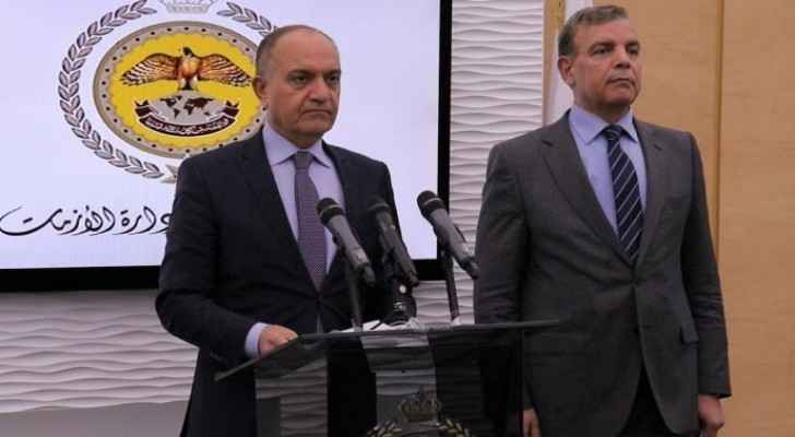Press briefing addressing COVID-19 situation in Jordan
