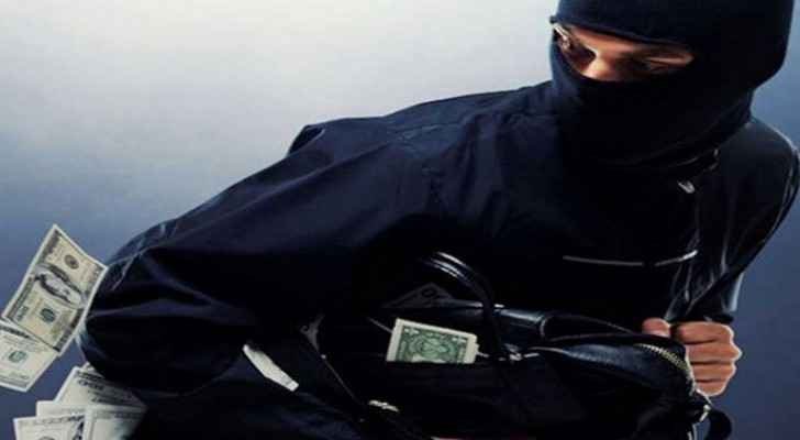 Bank robbery in Amman