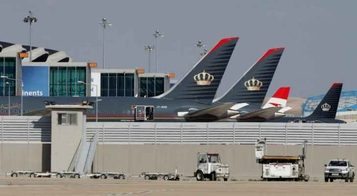 More than 17,000 passengers arrived at Queen Alia International Airport since reopening