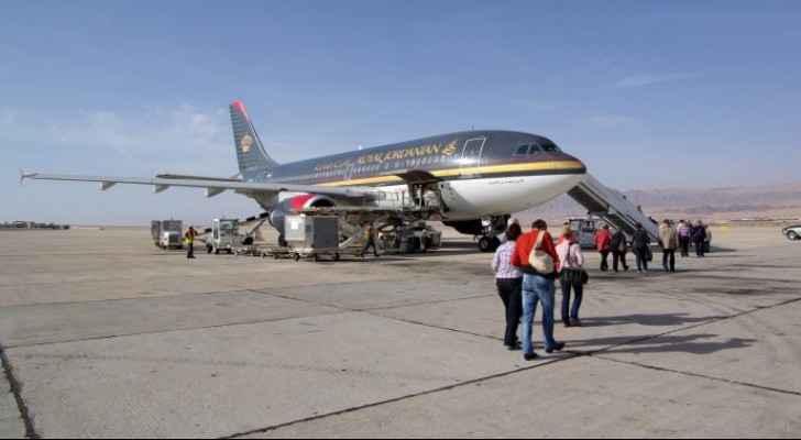 Second international flight lands in Aqaba