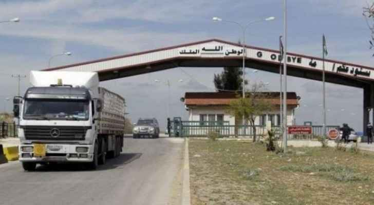 Jaber Border Crossing reopens for truck traffic only