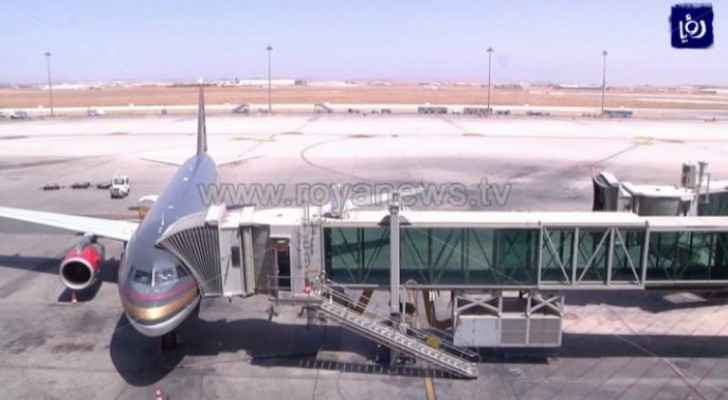 Queen Alia International Airport receives 183 flights since reopening