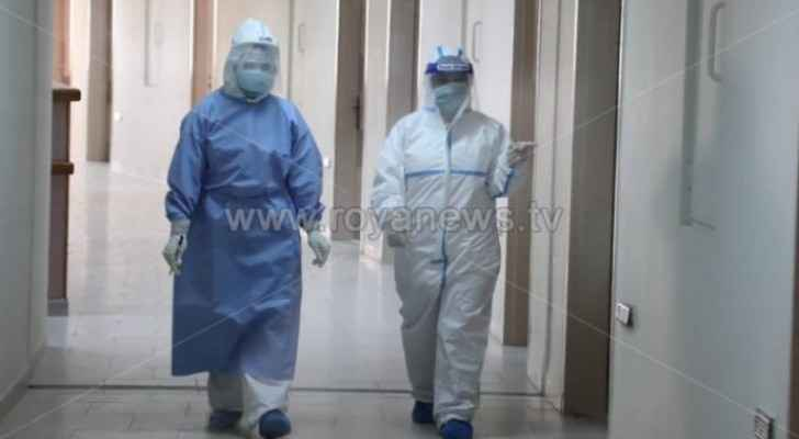 Forensics perform autopsy on person who died from coronavirus in Jordan