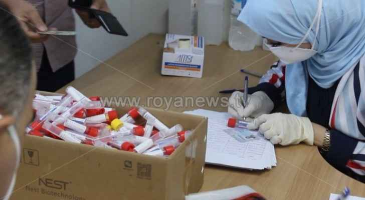 823 new COVID-19 cases in Jordan, 820 local cases