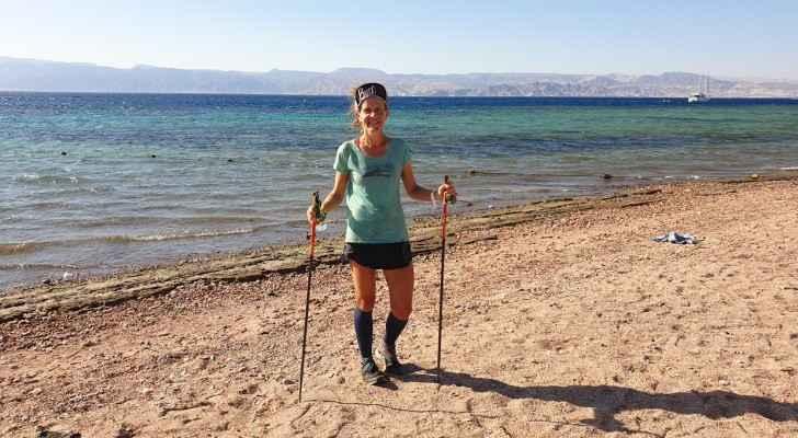 VIDEO: American woman breaks Jordan Trail record
