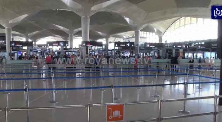 New details on PCR tests in airports in Jordan