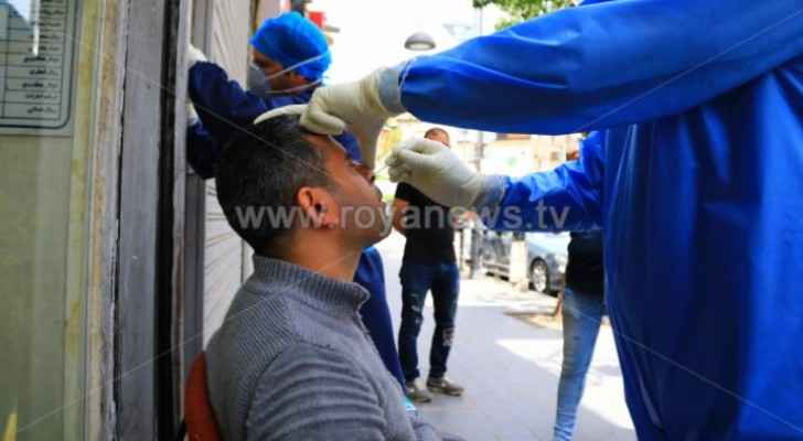 Active COVID-19 cases exceed 16,000 in Jordan