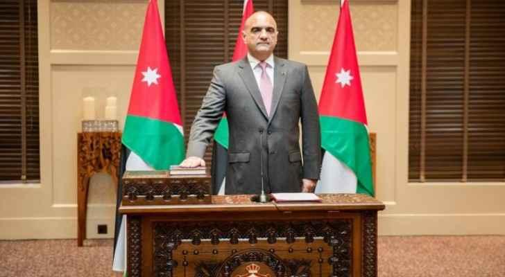 Al-Khasawneh's Cabinet sworn in