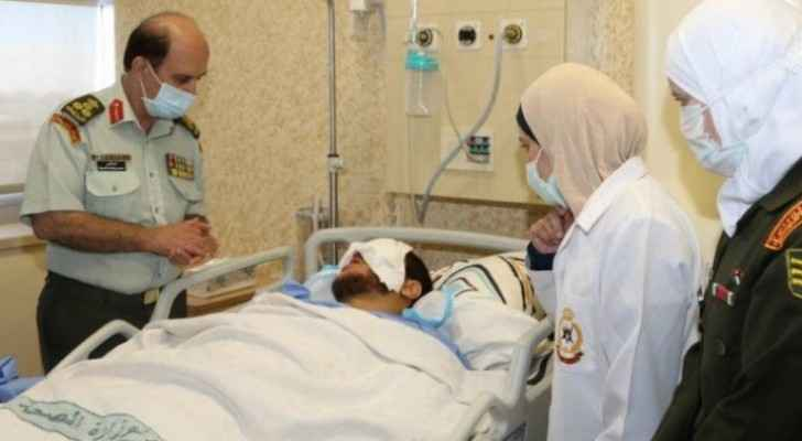 Zarqa Crime victim recovering at King Hussein Medical City
