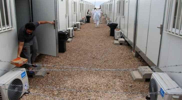 Irbid Health Directorate receives 20 caravans for COVID-19 patients