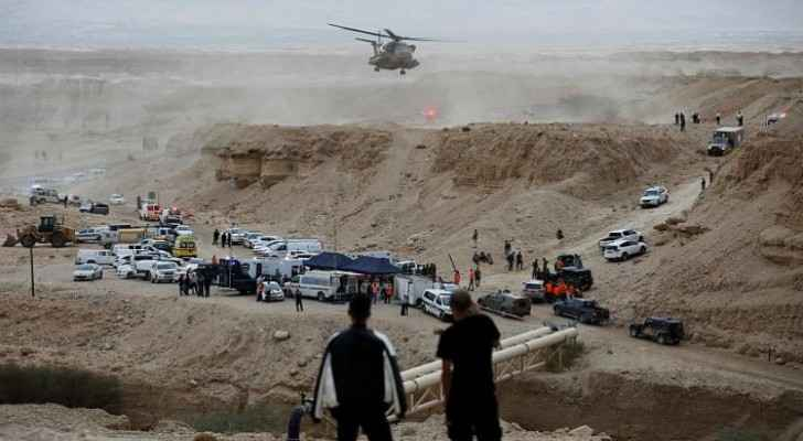 Jordanians remember victims of Dead Sea tragedy