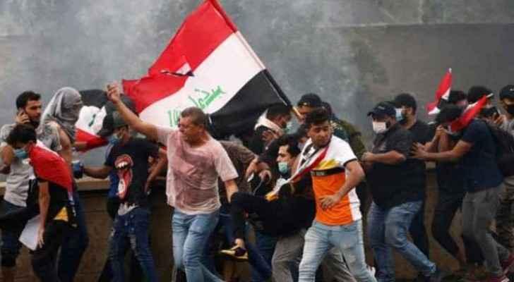 October Revolution protests return to Baghdad