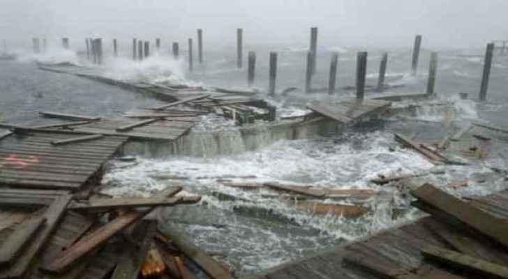 Hurricane Zeta begins to sweep the United States