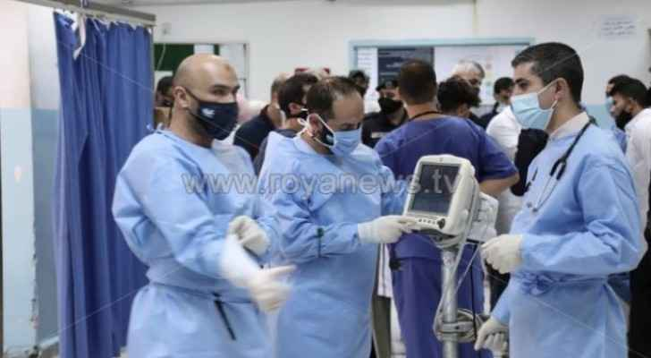 Jordan records 40 COVID-19 deaths and 3,443 new cases