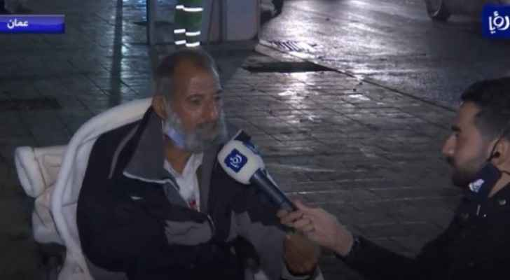Senior citizen found abandoned under the rain for three days