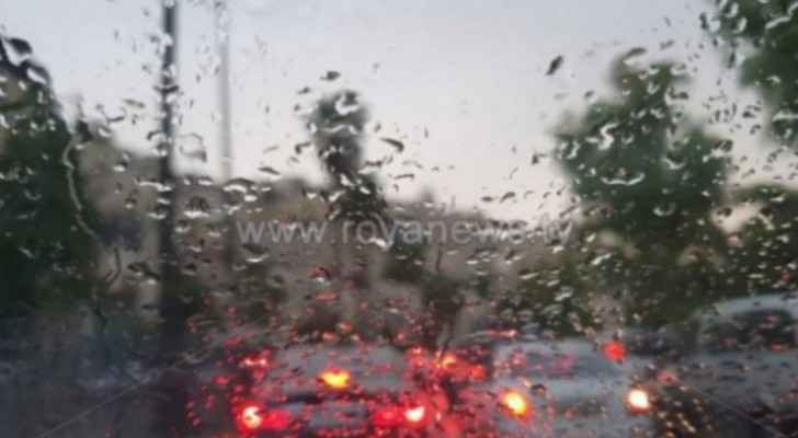 Air instability affects Jordanian weather