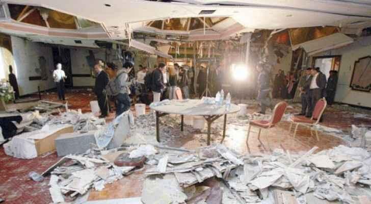 Jordan marks 15 year anniversary of hotel bomb terror attacks