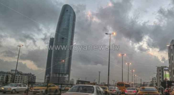 Moderate weather conditions expected in Jordan