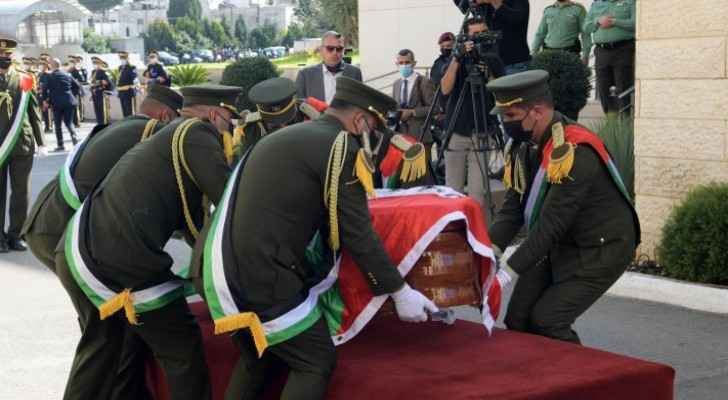 The late Saeb Erekat laid to rest