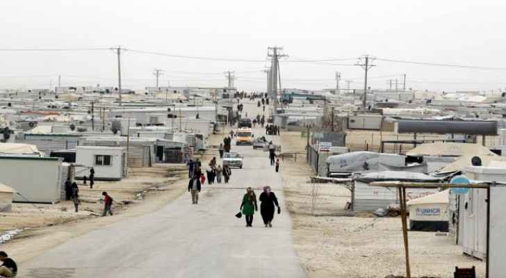 Child dies in caravan fire in Zaatari Camp