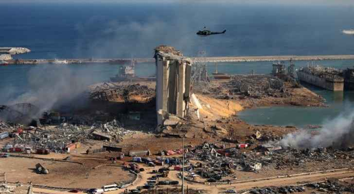 German company to remove hazardous materials from Beirut port