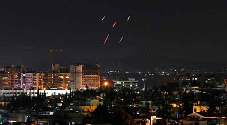 Israeli Occupation strikes in Syria kill eight