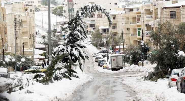 Heavy snowfall expected in Jordan this winter: Arabia Weather