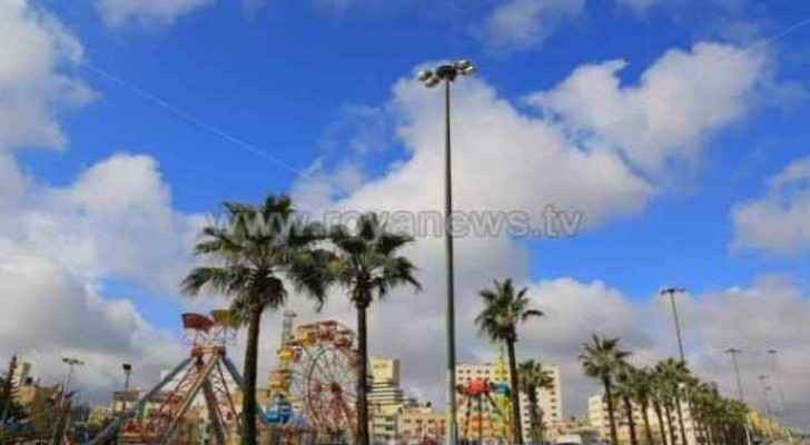 Pleasant weather expected in Jordan Friday