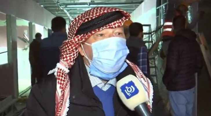 Field hospital at Prince Hamzah hospital to open in mid-January