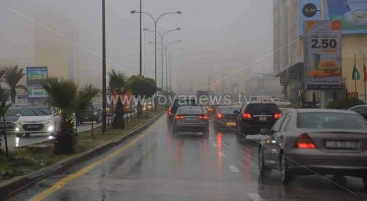 Chances of rain return to Jordan