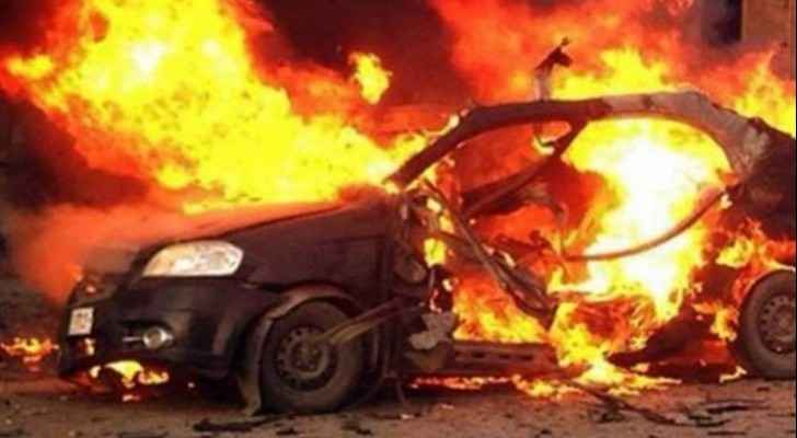 Woman, children rescued following vehicle fire