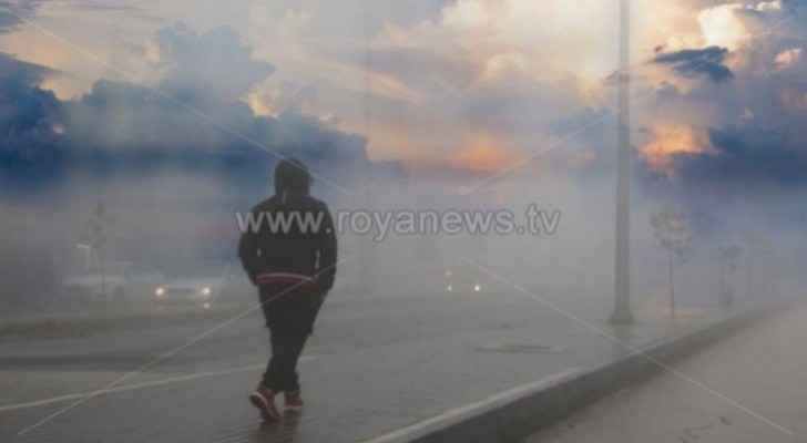 Temperatures drop significantly in Jordan