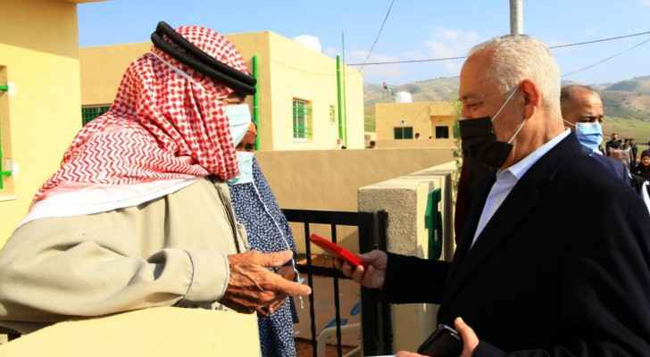 28 underprivileged families receive new homes in Irbid and Ajloun