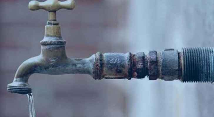 Emergency maintenance to partially affect water distribution in several areas of Zarqa