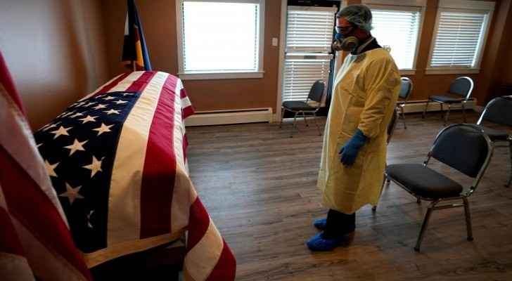 Record-breaking COVID-19 deaths recorded in US