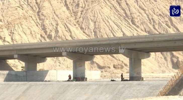 Basic works completed on Dead Sea bridges: Al-Kasabi