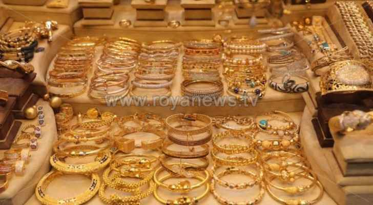 Gold prices rise in Jordan: JJS