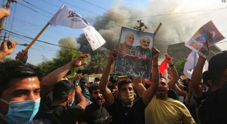 Thousands of Iraqis commemorate the first anniversary of Soleimani's death
