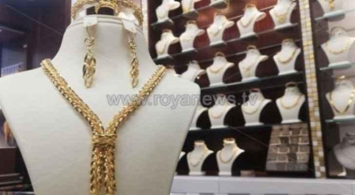 JJS announces gold prices in Jordan