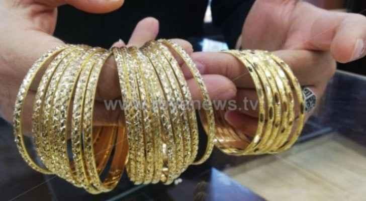 Gold prices soar in Jordan: JJS