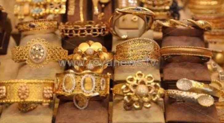 Gold prices rise in Jordan