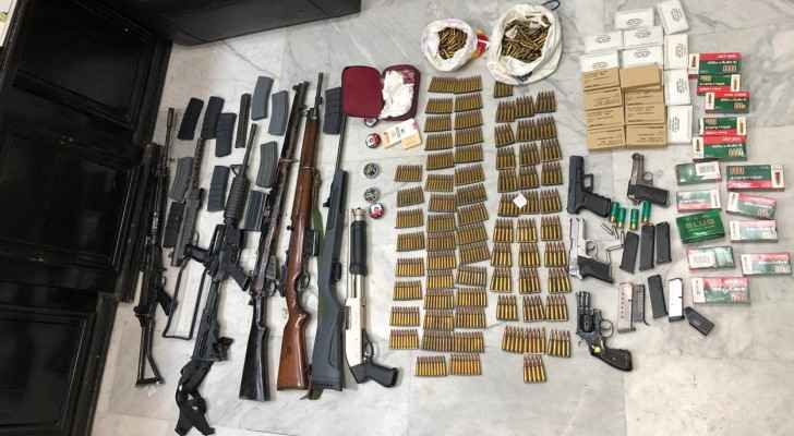 Anti-Narcotics arrests one person, seizes narcotics and firearms
