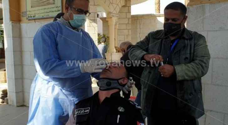 Authorities conduct PCR tests for worshipers in Aqaba