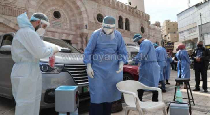 Jordan records 21 deaths and 1,092 new coronavirus cases