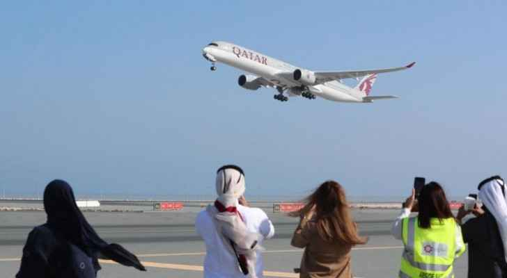First flight in three years between Qatar, Saudi Arabia takes off following reconciliation